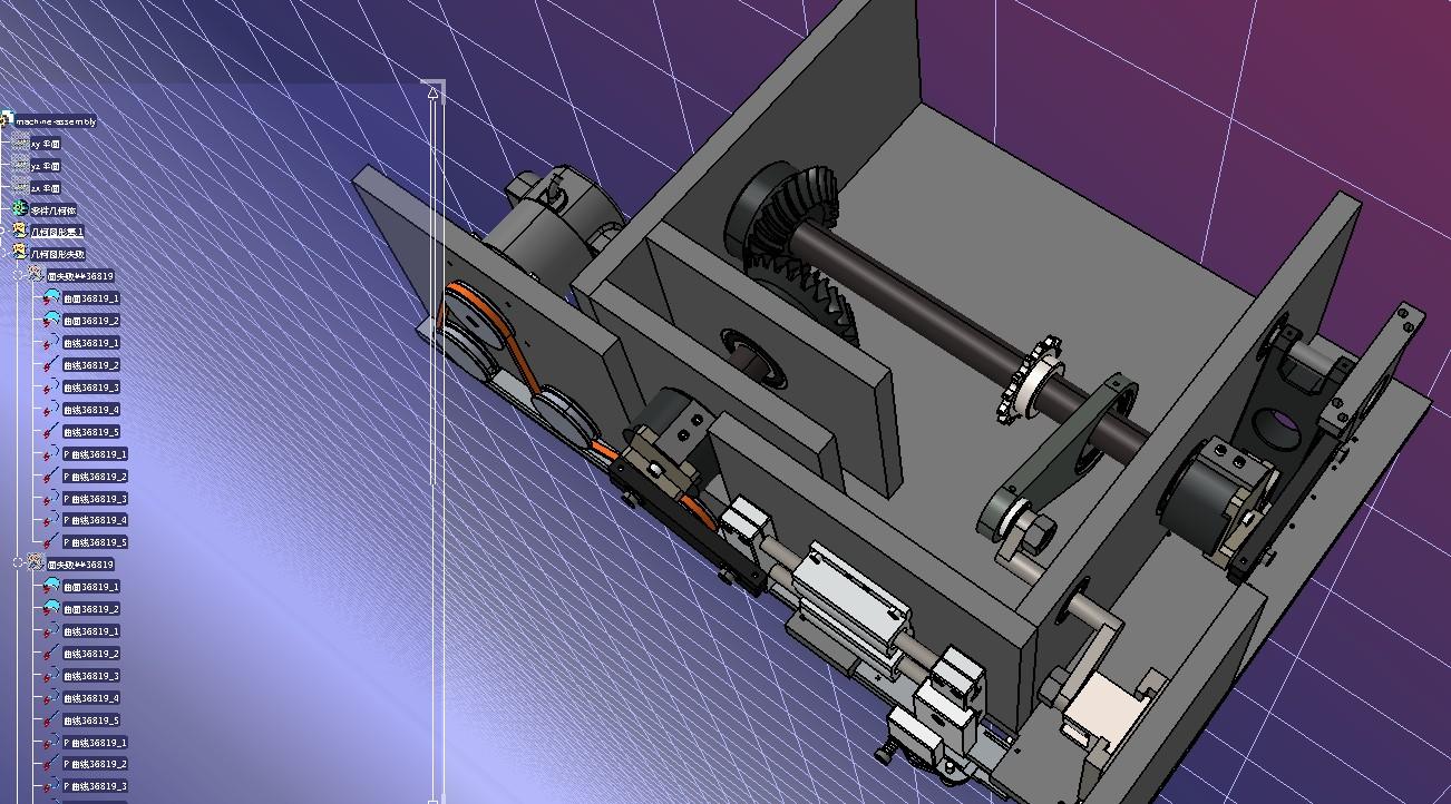 排针连接器机构3D图纸 IGS格式
