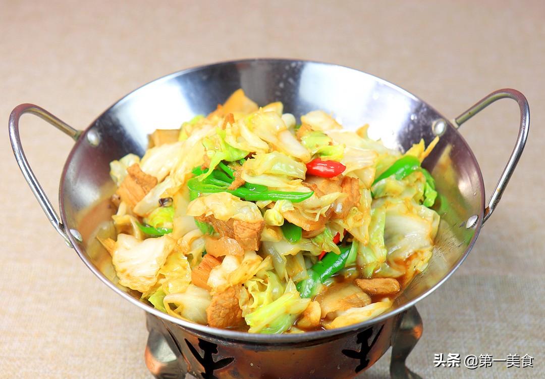 【包菜五花肉】做法步骤图 先炒哪个很关键 这样做鲜香不油腻