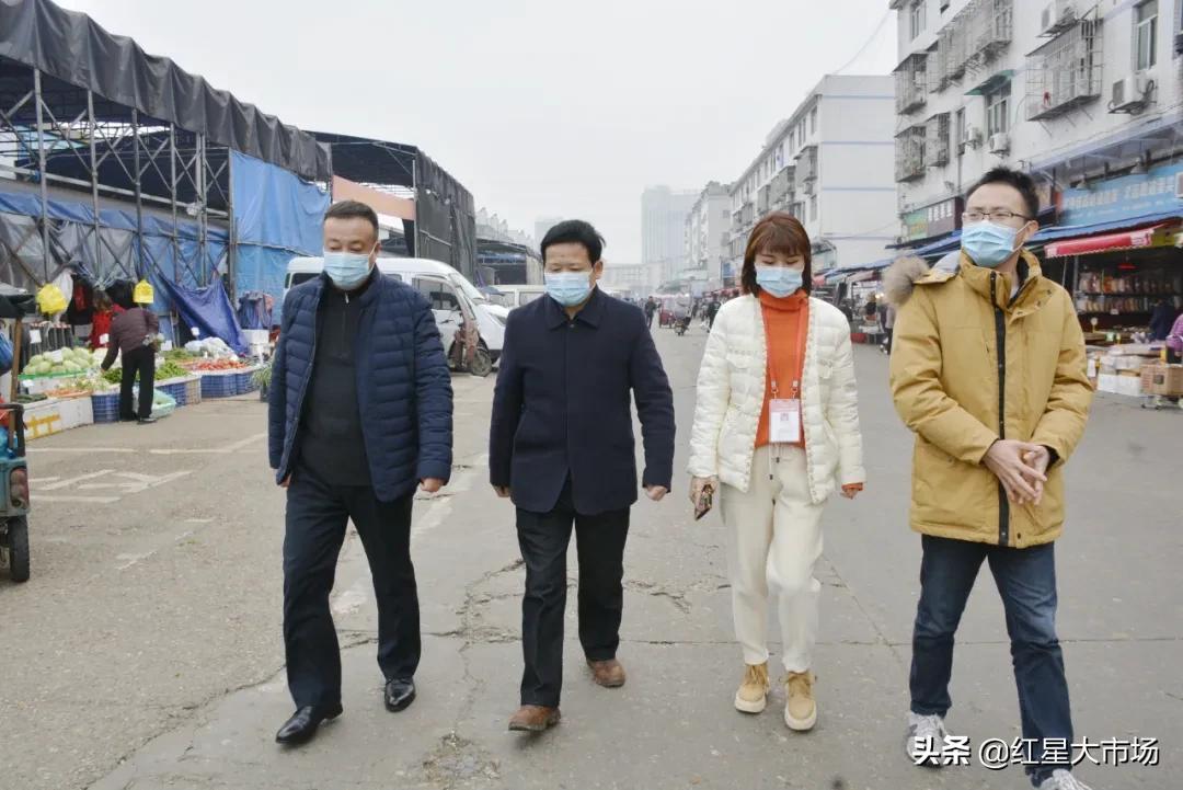 陈明南副局长调研市场冷链食品防疫工作