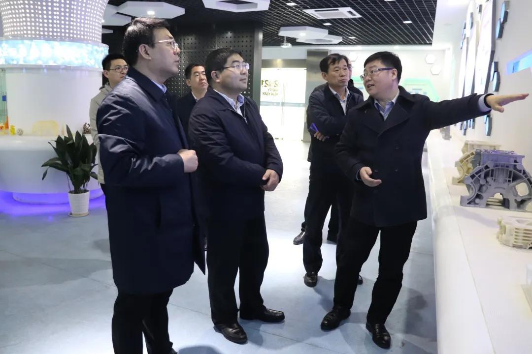 凝聚共识 聚势同行—寿光市副市长刘莹有一行调研南京铖联激光