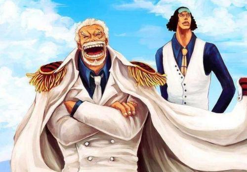 海賊王:海軍底蘊深厚,巔峰戰力除了三大將,前輩們也是雄風依舊