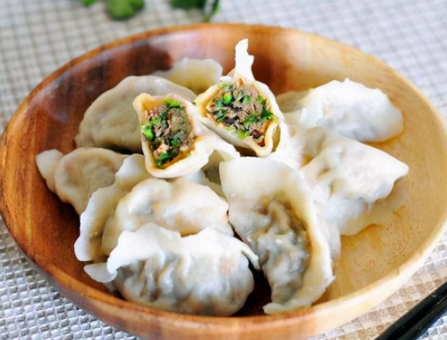 韭菜猪肉馅饺子的做法步骤图 好吃还润肠