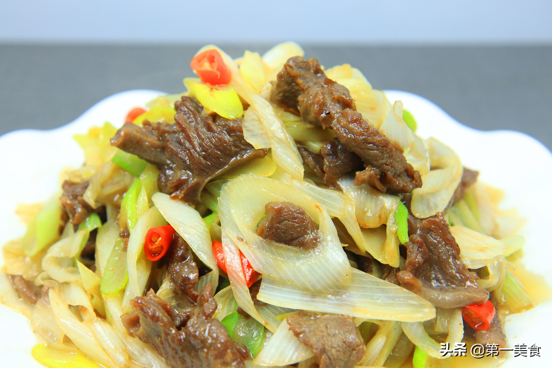 【葱爆牛肉】做法步骤图 关键腌制要入味 厨师长分享饭店腌制
