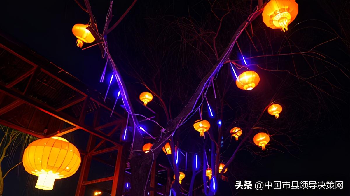 宁夏盐池县扮靓古城服务群众就地过年,体验别样年味儿