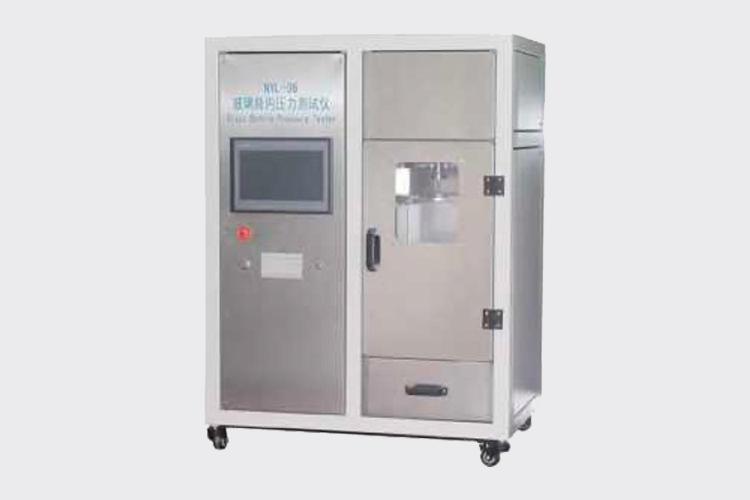 关于玻璃瓶耐内压力测试仪试验意义、步骤及其原理