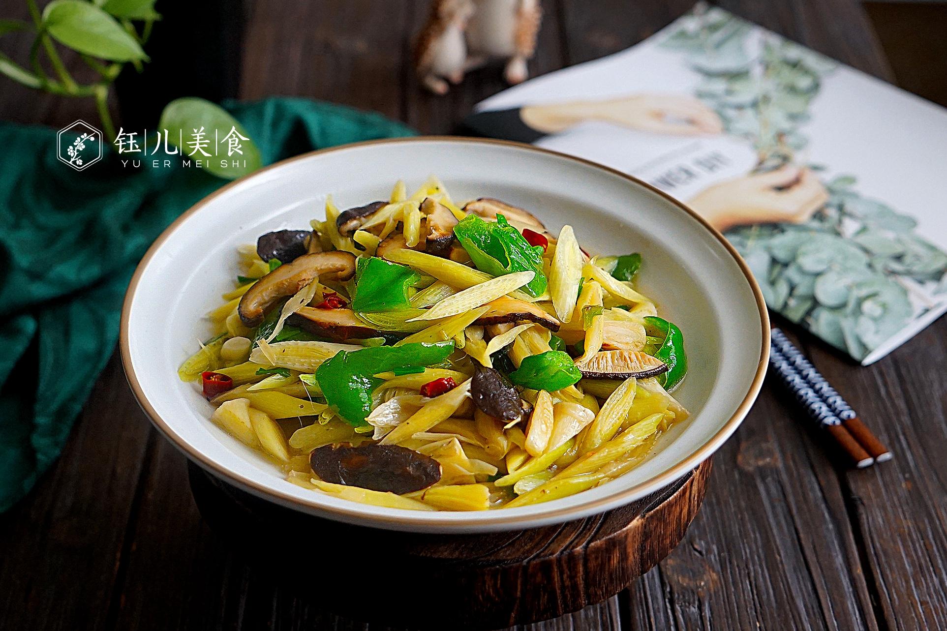 明日谷雨节气,给家人吃这菜,鲜嫩营养又美味,比春笋还要好吃 美食做法 第2张
