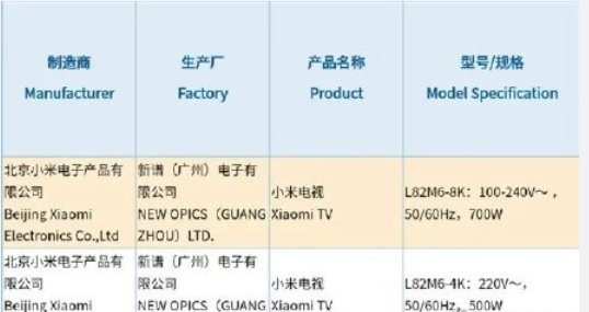 红米电视A系列产品曝出,一口气公布五款新产品,欲完全替代小米手机