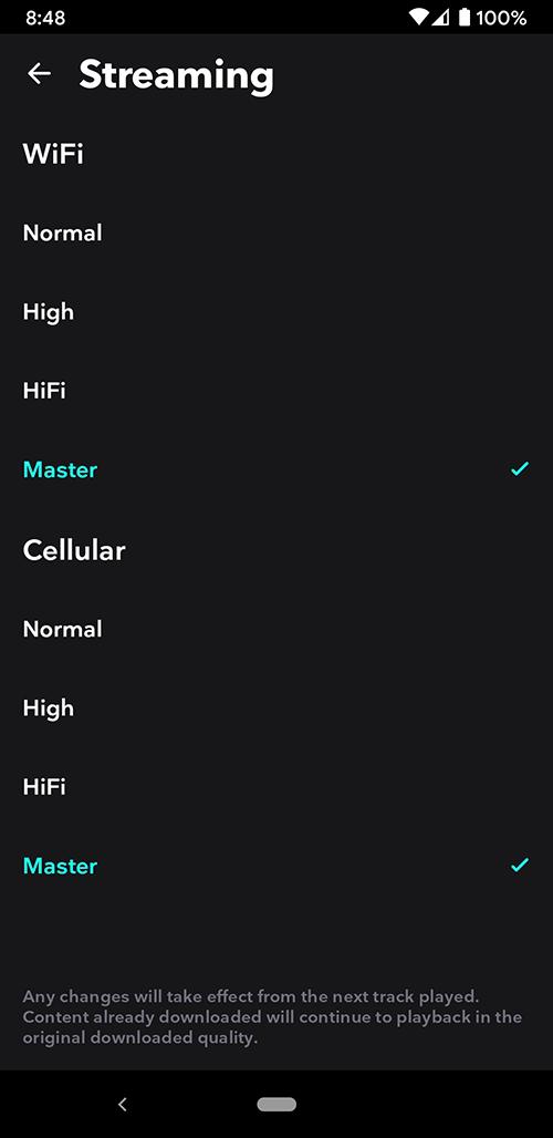 音乐编解码器的更新情况