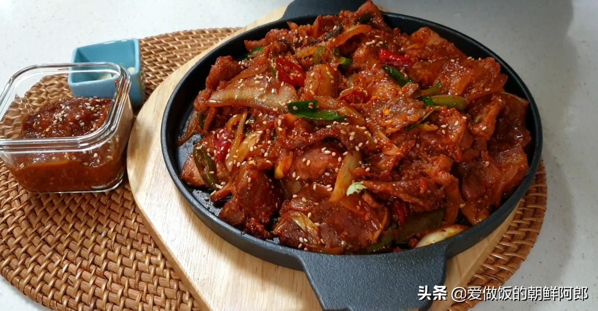 美滋滋的韩式烤肉,从腌制到蘸料一应俱全,快收藏起来自己做