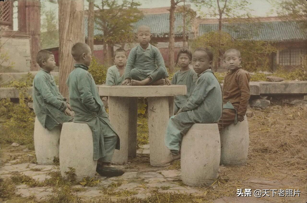 1920-1930年代的北京彩色照 彼时北京风貌的真实记录