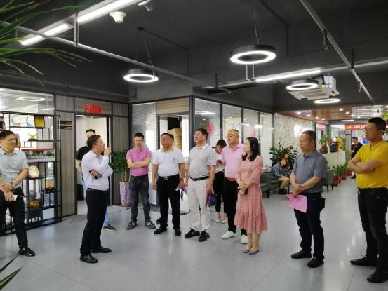 德化县委统战部和新阶联来石狮开展考察交流活动