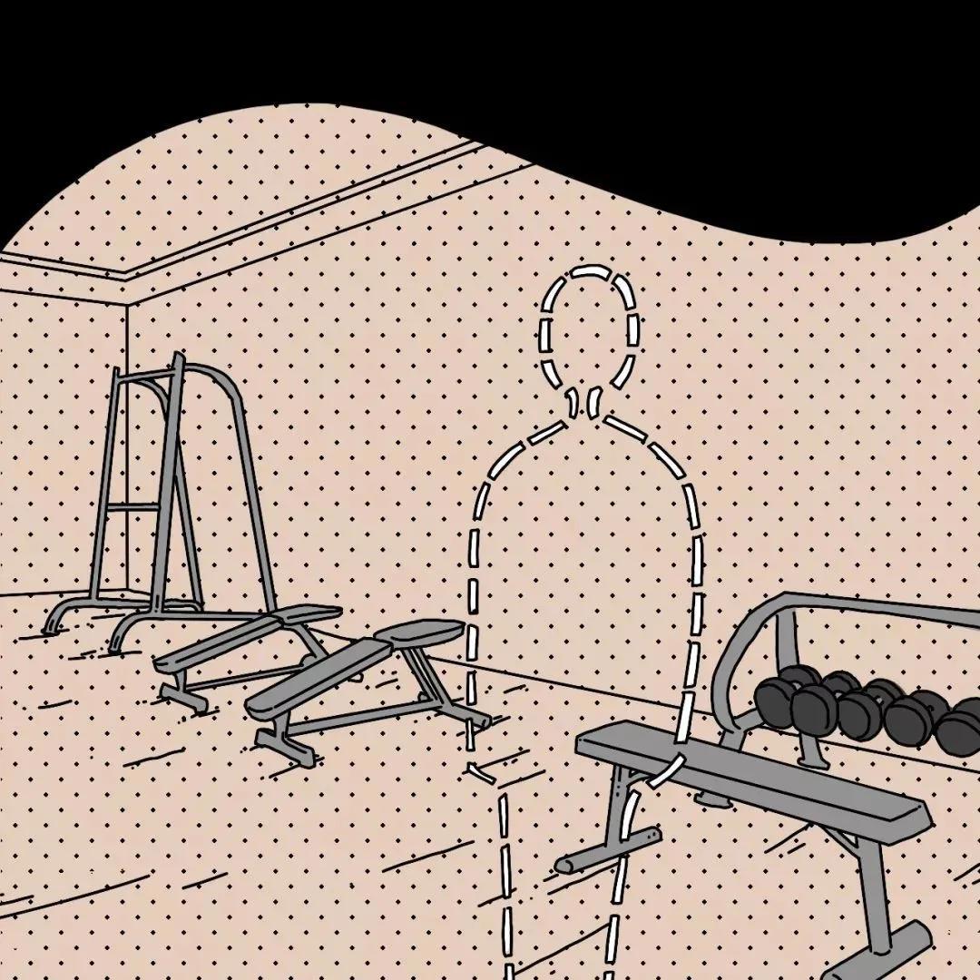 """""""健身房里是真的很乱吗?""""""""是的!!"""""""