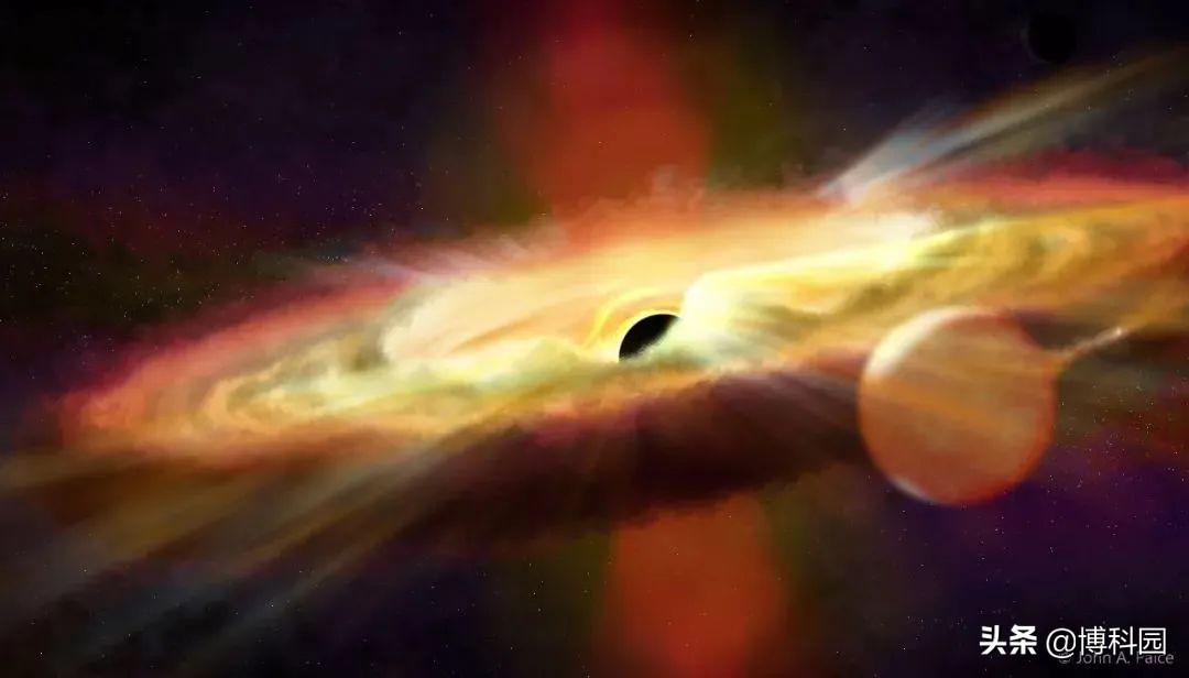 风速达1800公里每秒,首次探测到:黑洞爆发产生的红外黑洞风