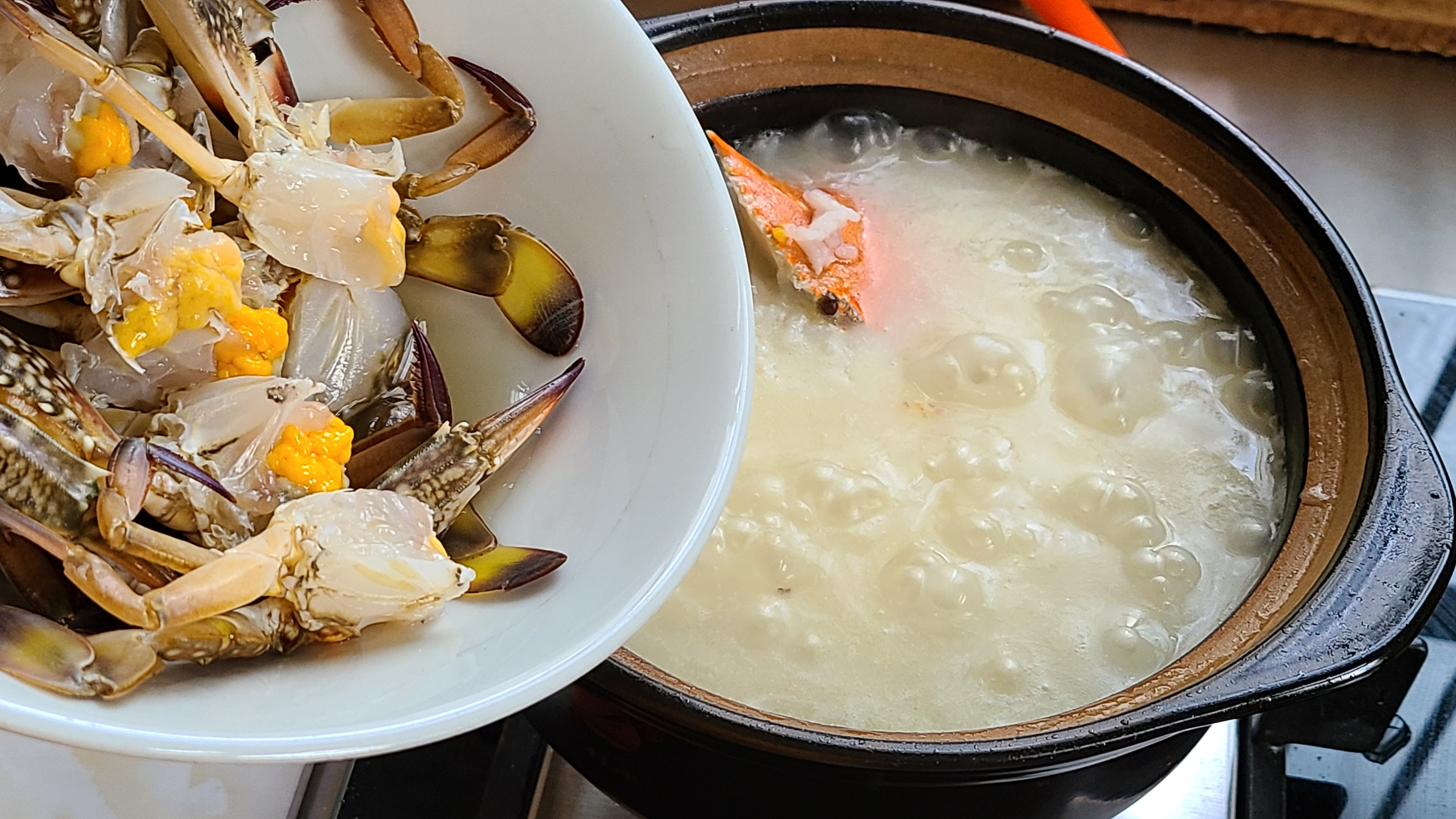 螃蟹的家常做法,味道鲜美又营养,做法跟材料很简单