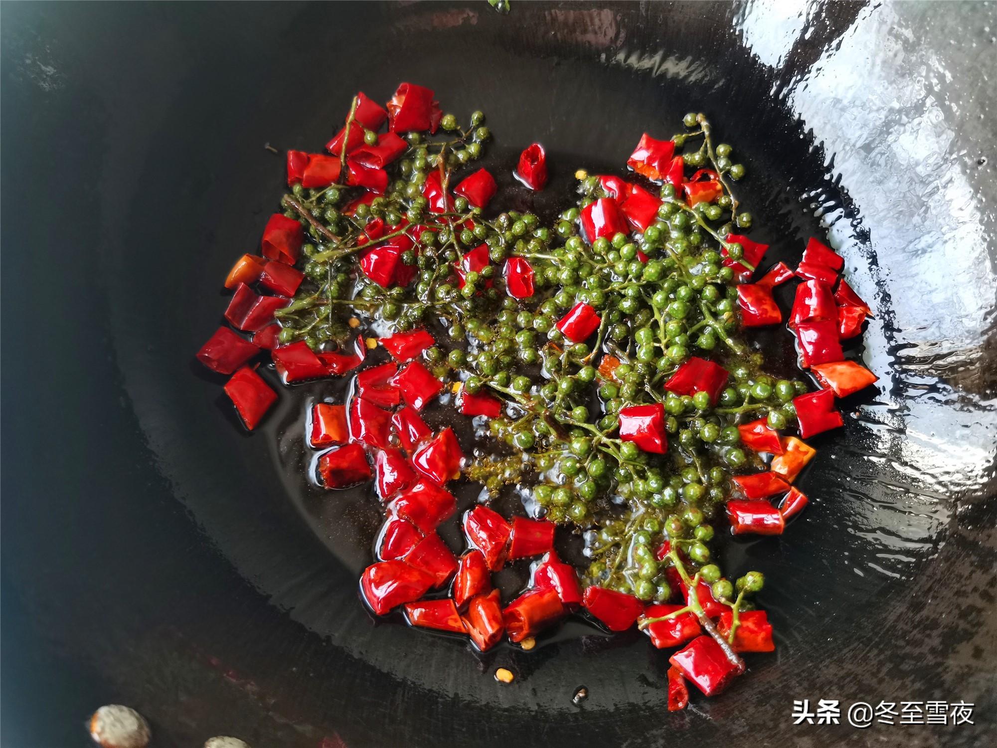 在家做金汤酸菜鱼 美食做法 第6张