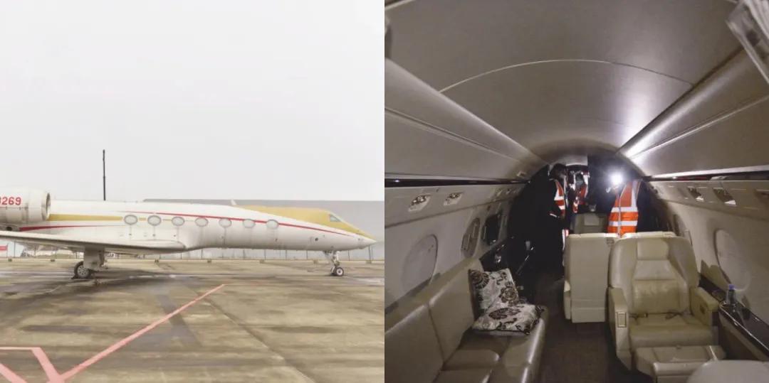 """""""私人飞机魔咒"""":甘肃前首富5亿豪华飞机将被拍卖"""