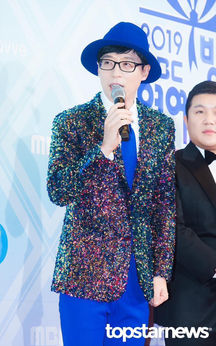 刘在石MBC得奖感言时许的愿一月就将实现,网赞就像演艺界总统