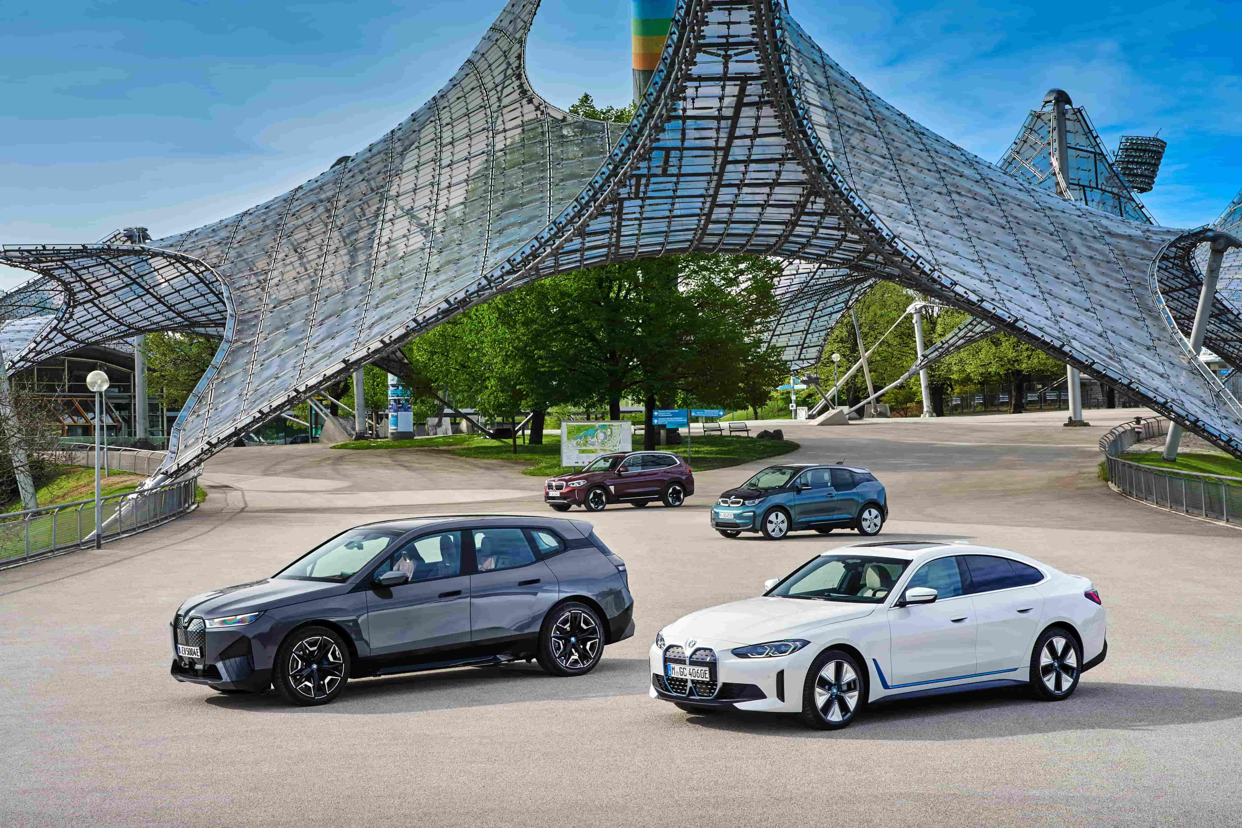 """刚刚宝马揭秘了希望打造的""""最绿色的电动车"""", 它是什么样子?"""