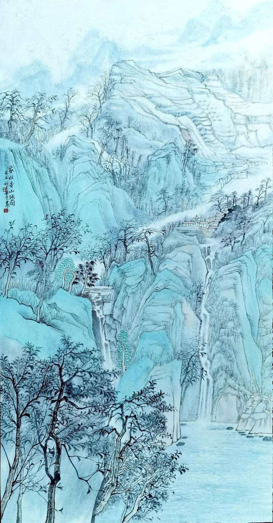 画意江南——江苏省金融美术家协会2021(秋季)画展