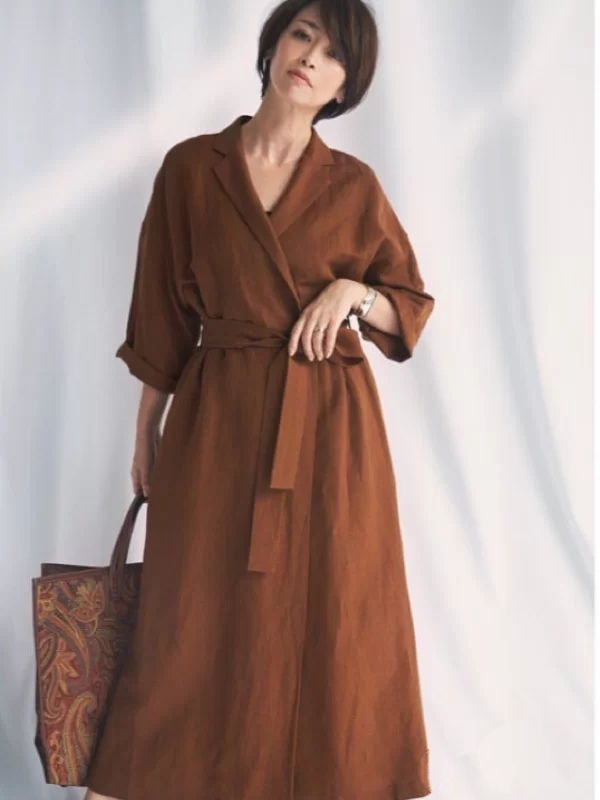 40多岁的女性,优雅比少女感更重要,日系博主教你穿出高级感