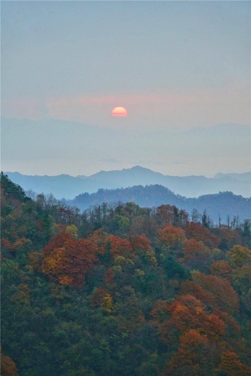 秦岭秘境自驾游,陕西这个小县城,山岭陡峭,藏着中国最美的秋天