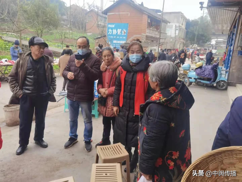 东兴区新江街道:织密疫情防控网  阻击病毒过新年