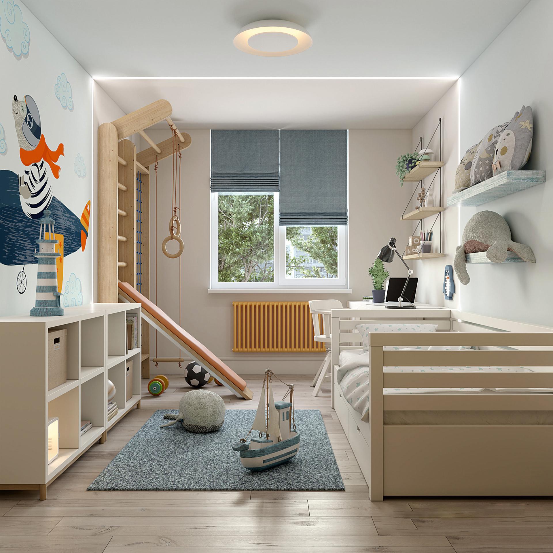 """最好的""""學區房"""",是家里的兒童房"""