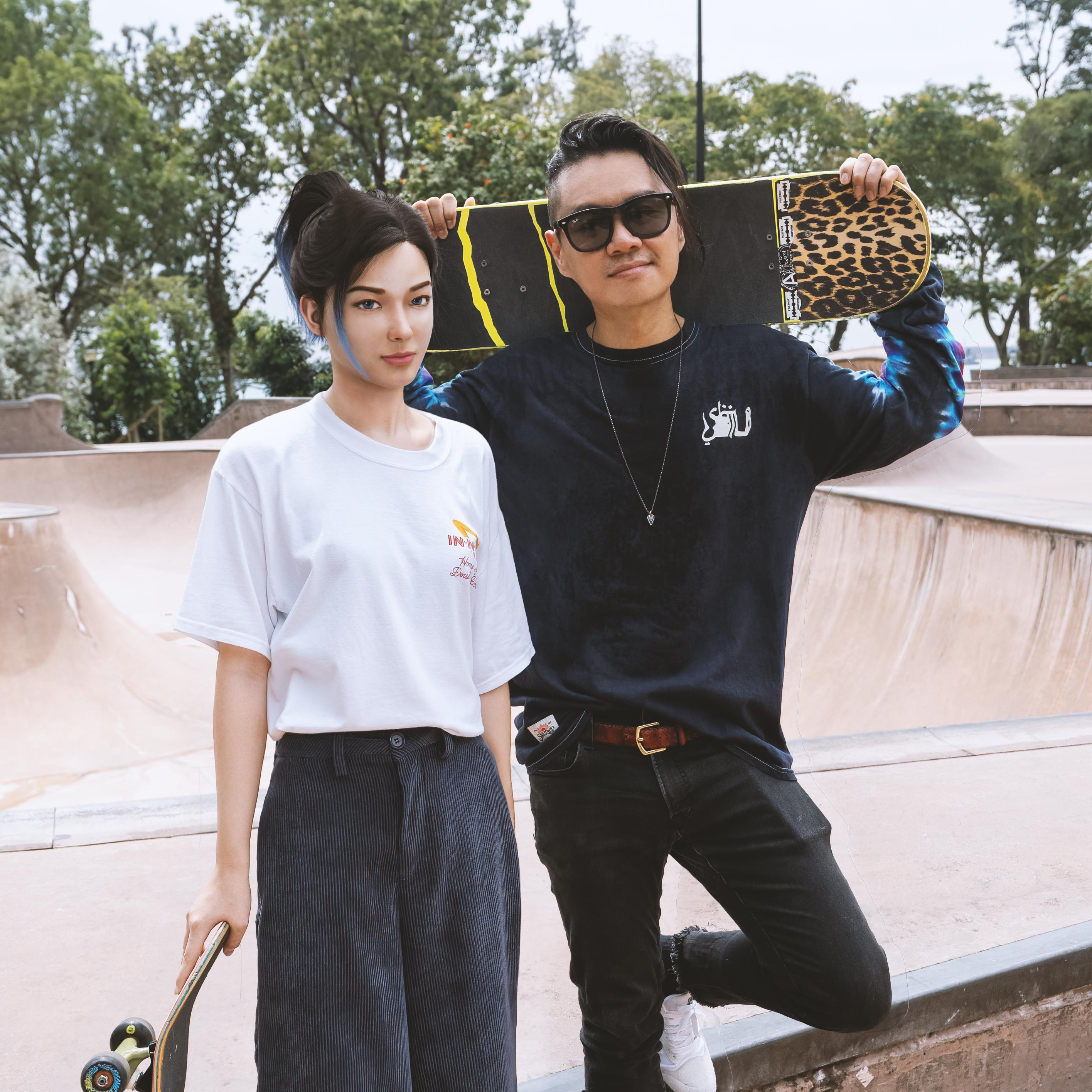 SBTG x Rae 胶囊 带来亚洲品牌与虚拟偶像跨界联名