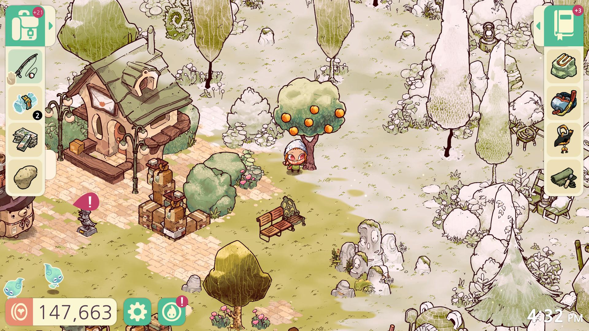 一款治愈系的手绘风开放世界奇幻冒险游戏