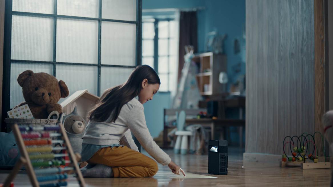 哈奇光屏M1互动触控投影携手豆神大语文,打造AI教育全能王