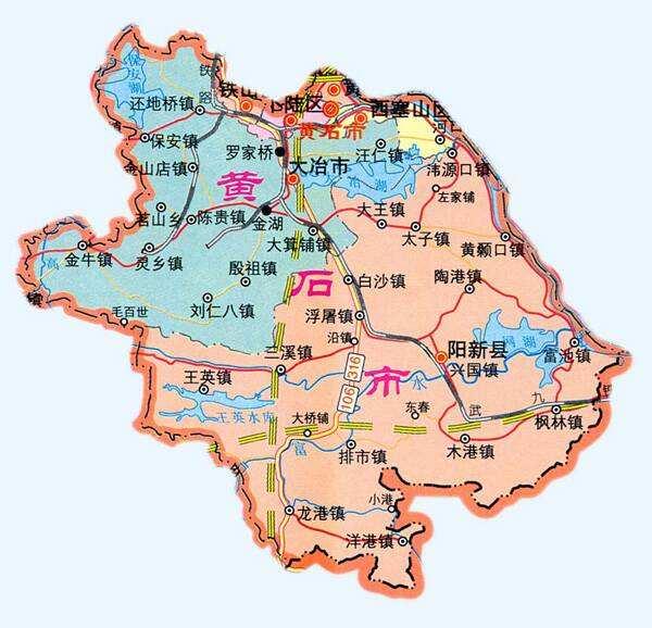 中国各地旅游资源、人口和气候简介~湖北黄石