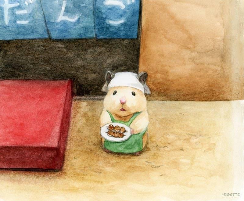 漫画:仓鼠都自这么努力了,你还有什么理由不努力