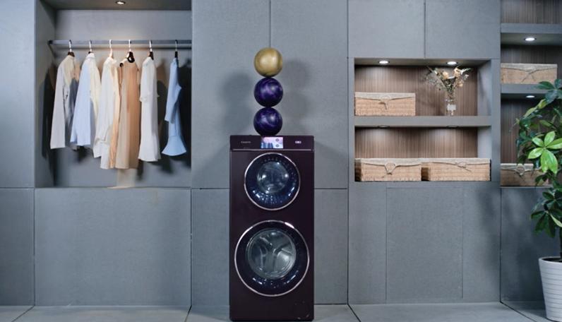 洗衣机上叠3颗保龄球?卡萨帝:这是原创的自信