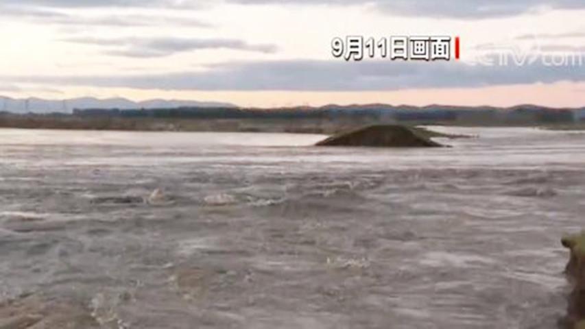 最高时超警戒水位2米!牡丹江依兰段发生溃堤