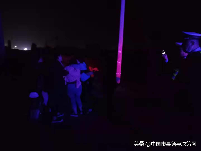 醉酒女子欲轻生 河北邯郸广平交警施救 化平安