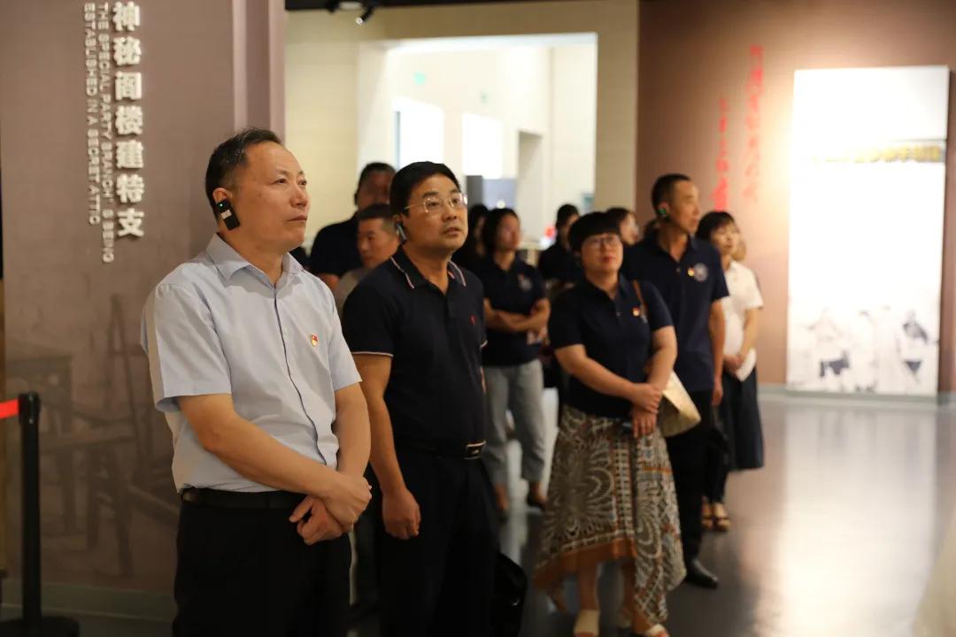 省委教育工委第八巡回指导组参加湘潭理工学院主题党日活动