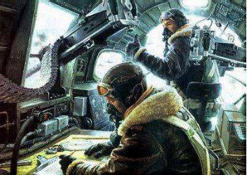 飞行的钢铁要塞,二战美军战略轰炸机的自卫火力