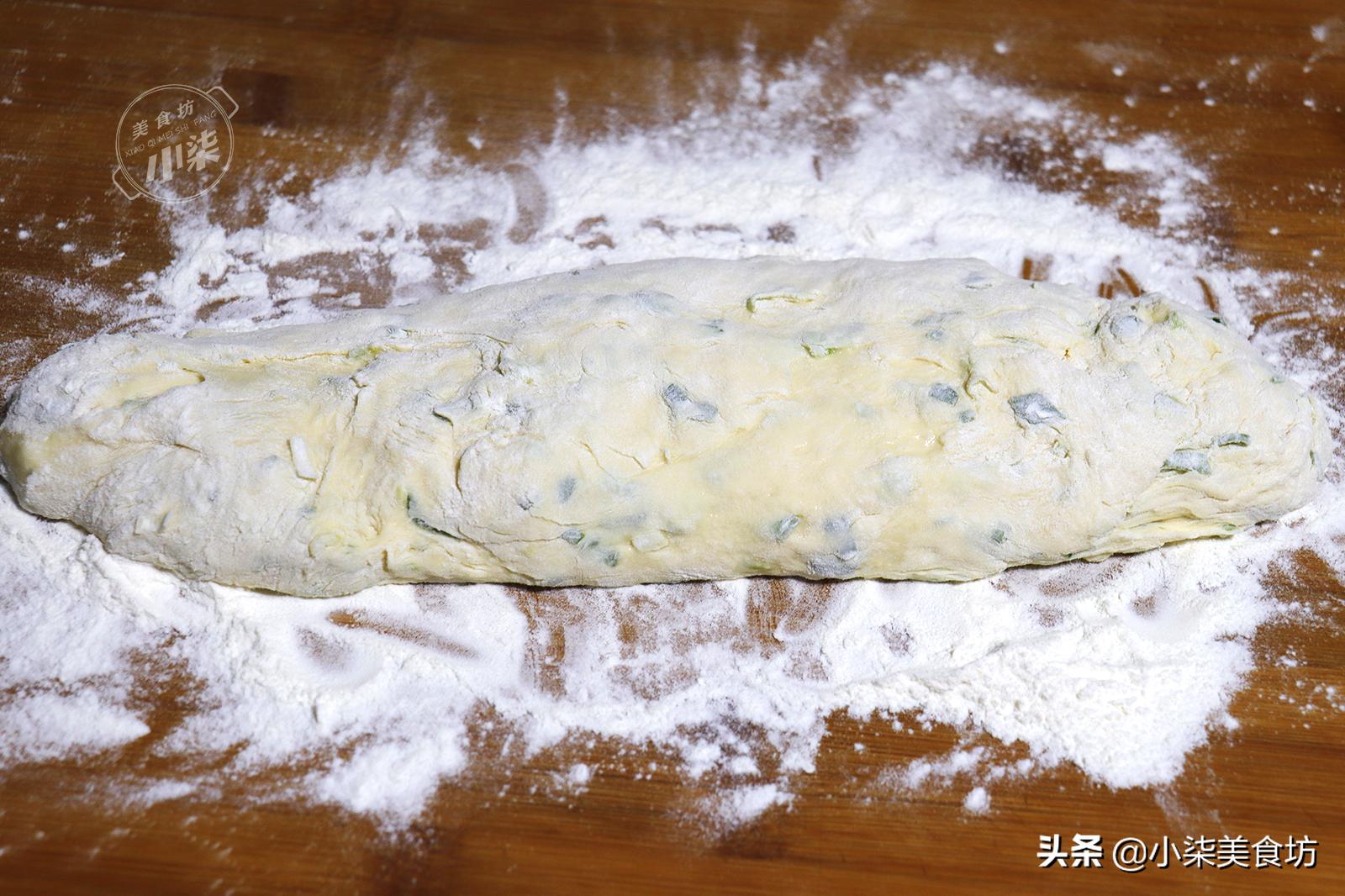 這餅我一周做2回,筷子一攪,外酥裡軟,大人孩子搶著吃,太香了