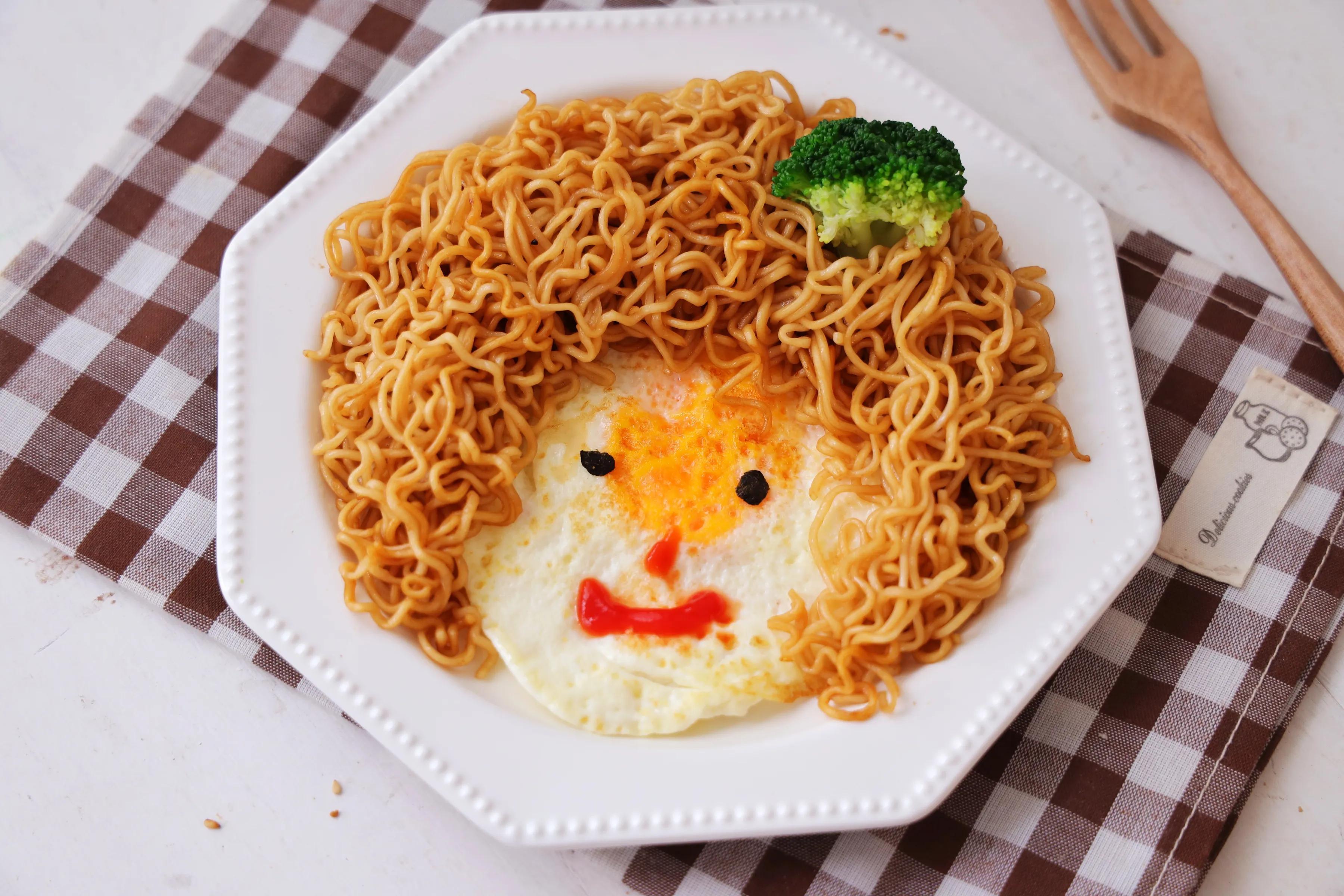 儿童节到了,给孩子做道简单的造型早餐,仪式感满满,特别简单 美食做法 第1张