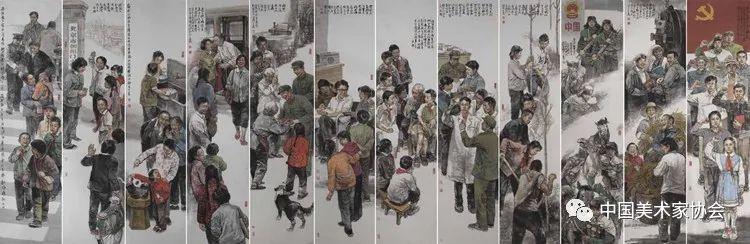 庆祝中国共产党成立100周年美术作品展览欣赏(四)