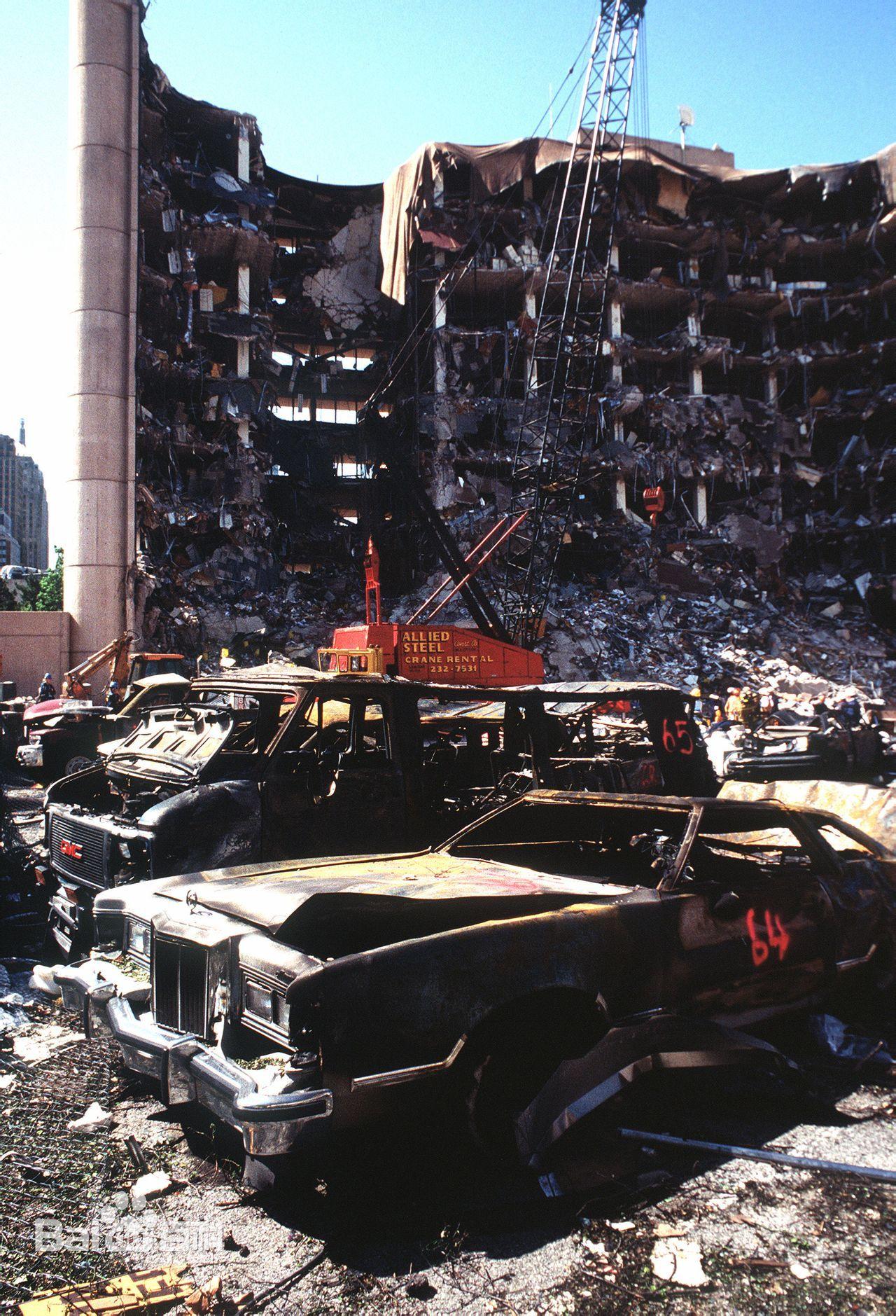 俄克拉荷马市大爆炸事件:退伍军人报复美国政府,炸死168人伤680人