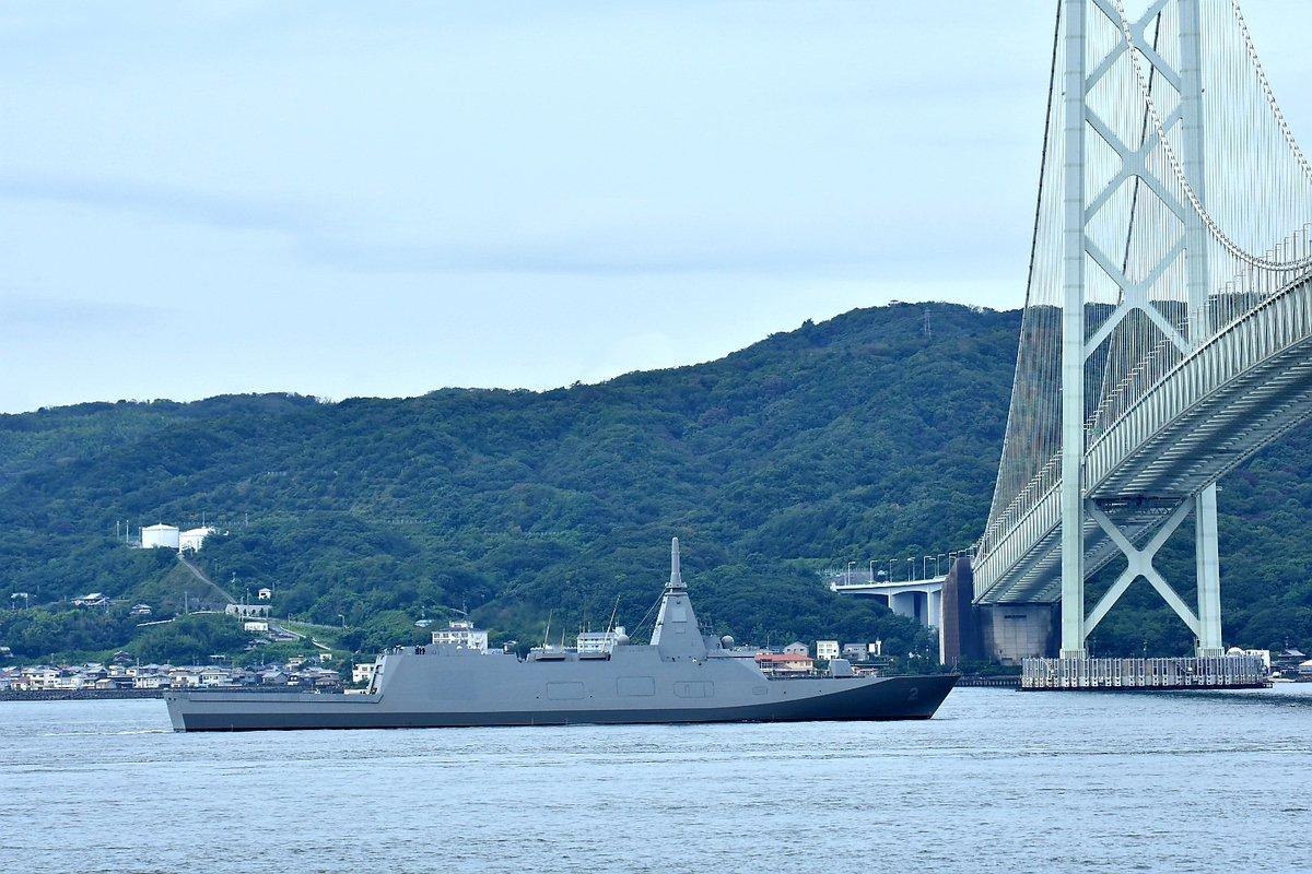 画风突变,日本新型护卫舰走向非主流,动力系统为航母打前站