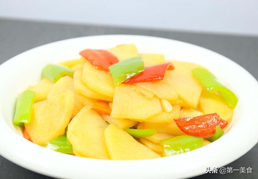 饭店的红烧土豆片为啥清脆好吃 原来多做这一步 大厨教你这样做