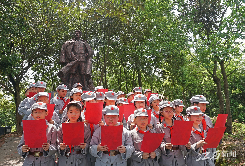 江西上饶万年县裴梅镇:首届红色文化旅游节举行