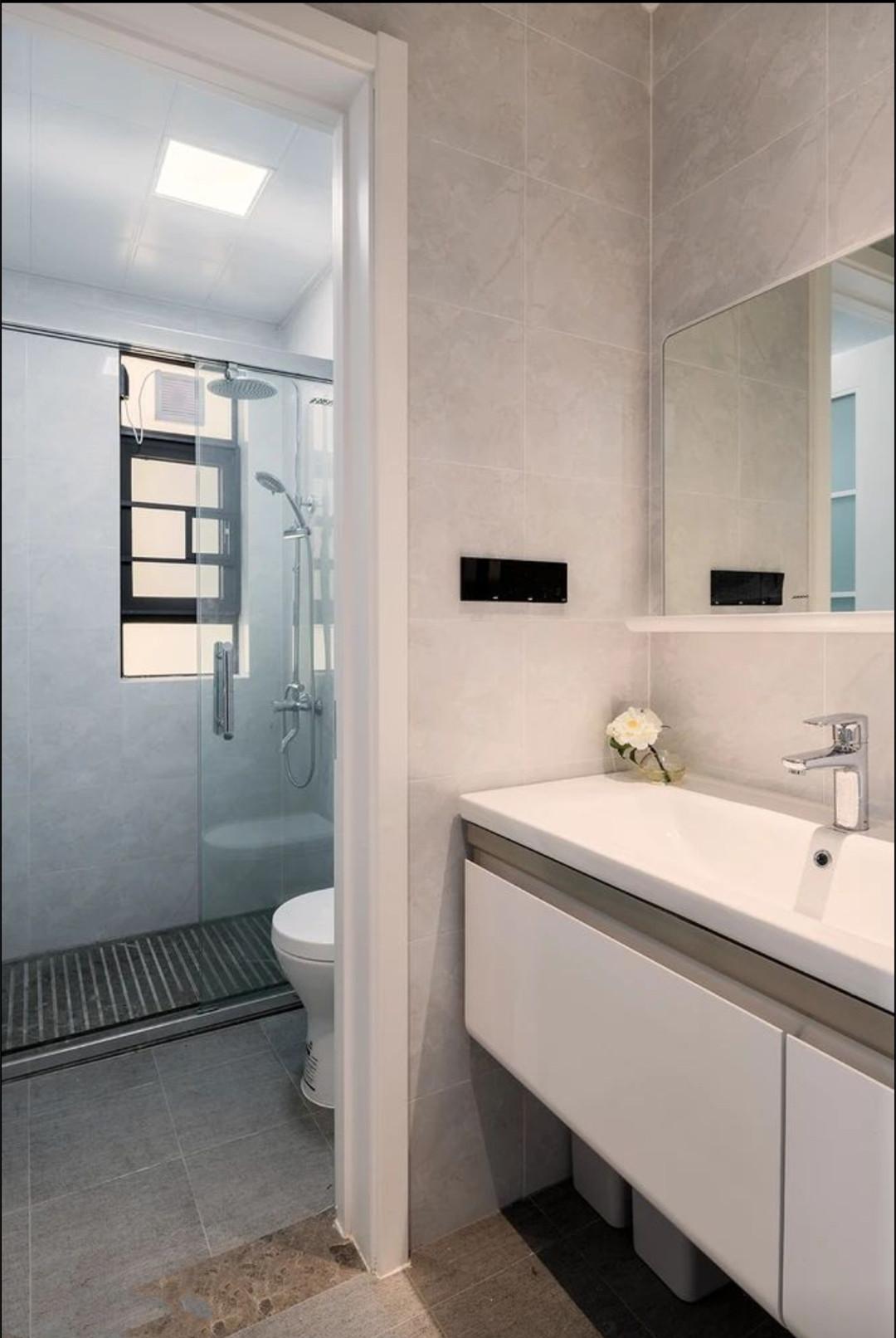 1㎡的衛生間就別裝馬桶了,裝個蹲廁就挺好,一樣能干濕分離