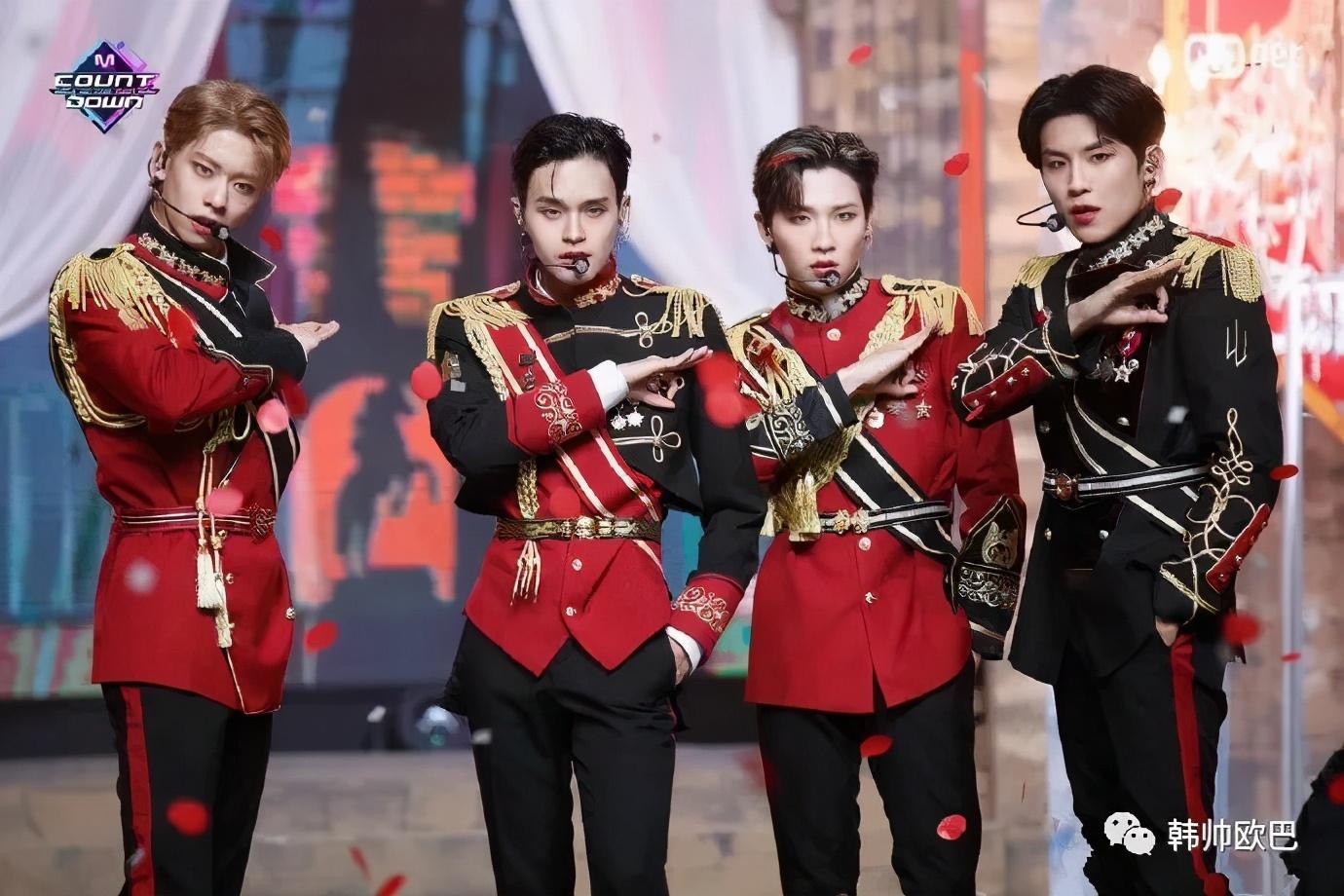 据说制作费的一半都花在服装上的,韩男团回归音放造型