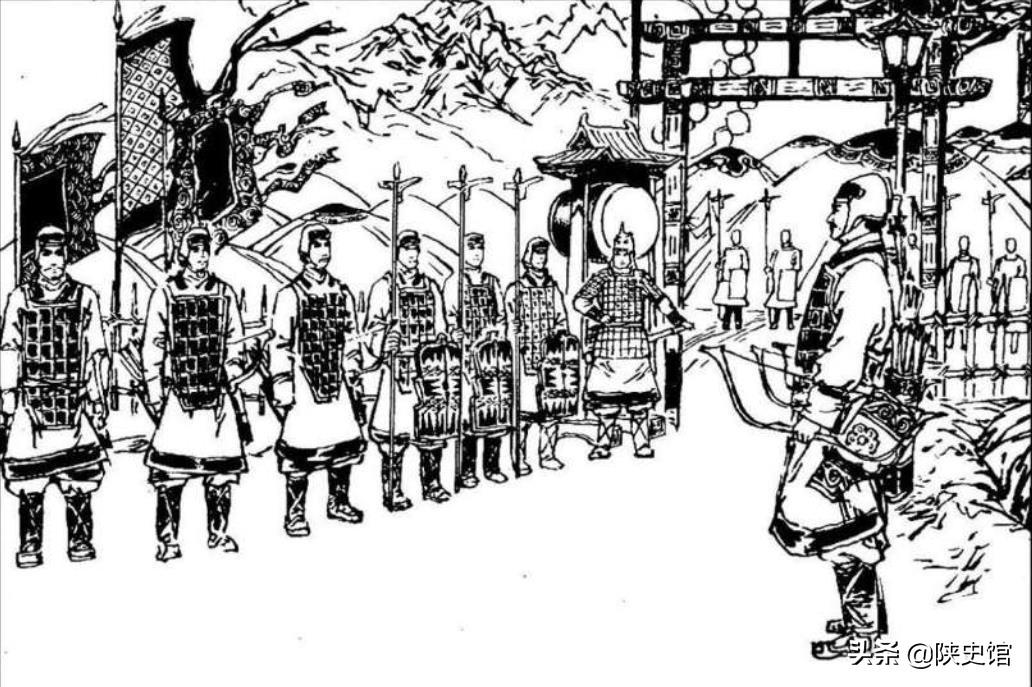 """""""柳营春试马,虎帐夜谈兵""""的细柳营是周亚夫驻扎在细柳的部队"""