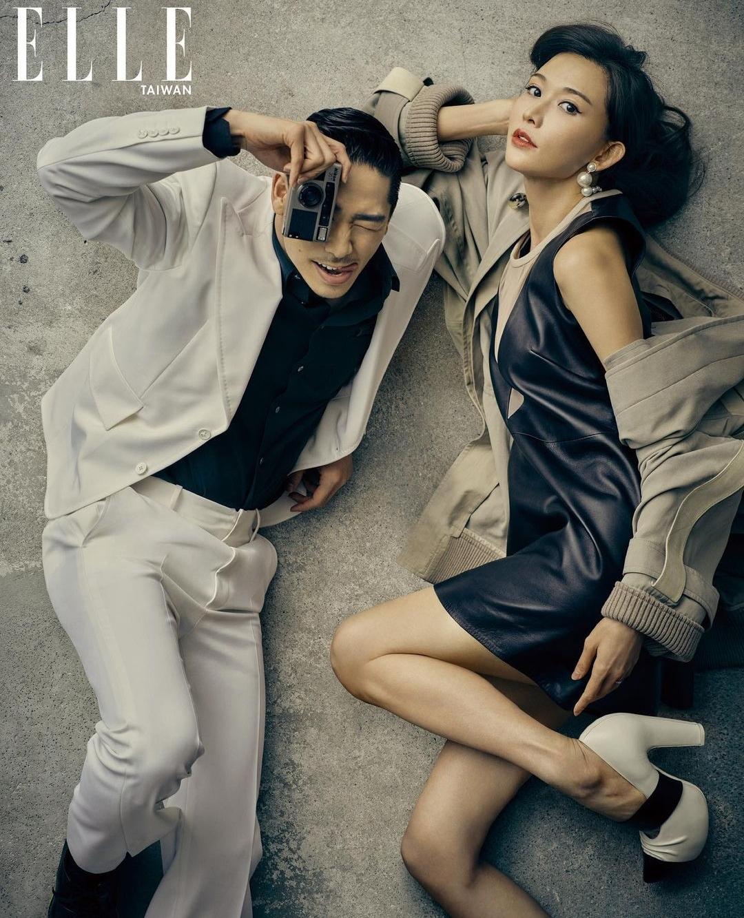 林志玲晒与丈夫Akira恩爱写真,庆祝结婚2周年,雨中共舞超浪漫