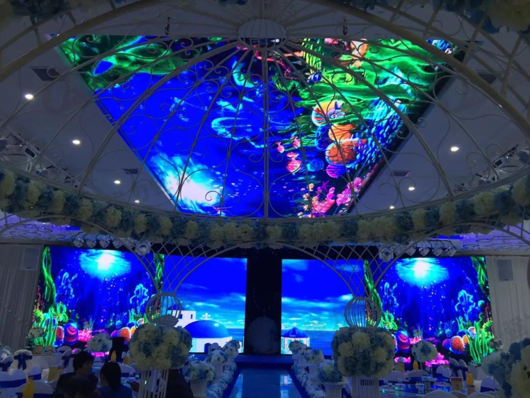 so酷!这些LED显示创造出美妙的光影世界