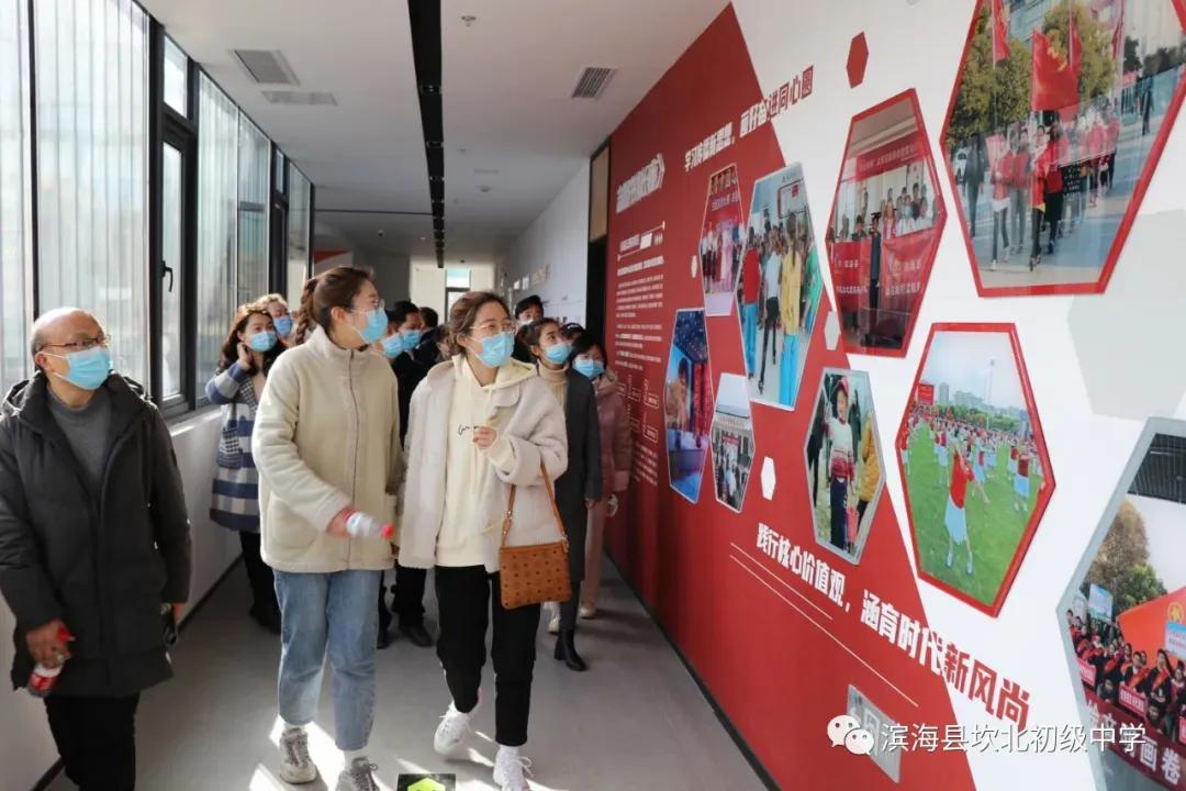 江苏滨海县坎北中学切实加强入党积极分子的教育培养